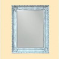 Oglinda Clasica Antichizata Alb Nero, Dreptunghiulara, 50x70