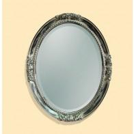 Oglinda Clasica Antichizata Nero Platino, Ovala, 94.5x75