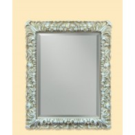 Oglinda Clasica Antichizata Alb Bronzo, Dreptunghiulara ,50x70