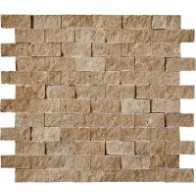 Mozaic Travertin Noce Split 2.3x4.8 (30x30)