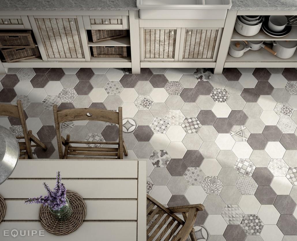 Faianta Gresie Hexagonala