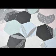 Gresie Faianta Hexagonala Oslo