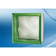 Caramida de Sticla Cloudy Green