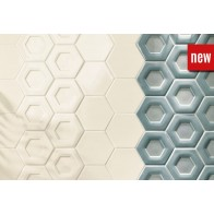 Faianta_Hexagonala_Dual_Aqua_Dual_Cotton_Piatto_Cotton