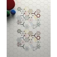 Gresie Faianta Hexagonala Paprica Colors