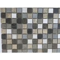 Mozaic Ceramic Legnocemento Mix 2.3x2.3 cm