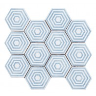 Gresie Faianta Panal Hexagono