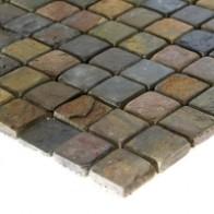 Mozaic Ardezie Multicolor 2.5x2.5x1 (30x30)