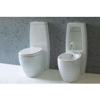 WC cu Rezervor Monobloc Italia Disegno Ceramica Tratto
